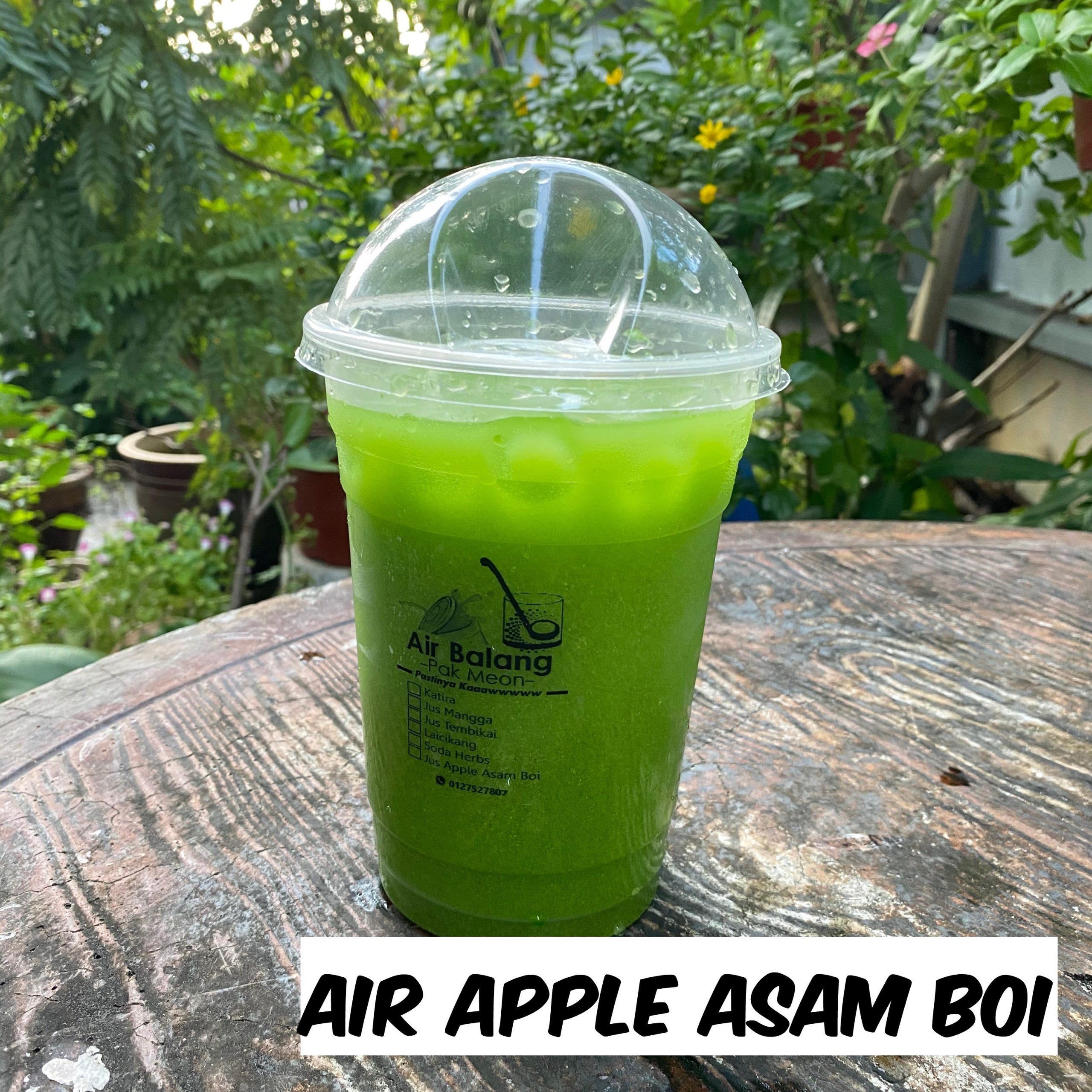 Air Apple Asam Boi