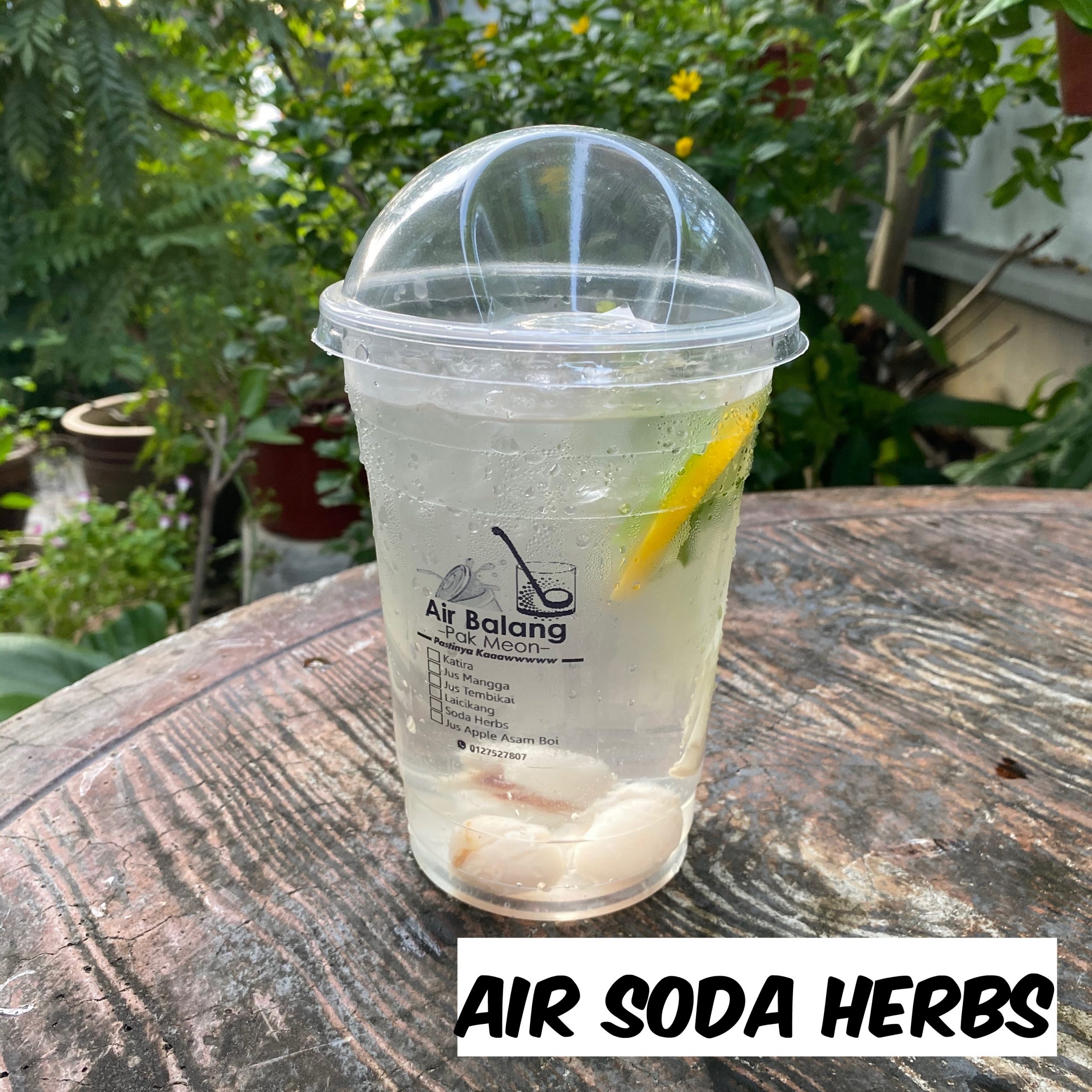 Air Soda Herbs
