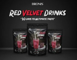 BRONIS RED VELVET DRINKS