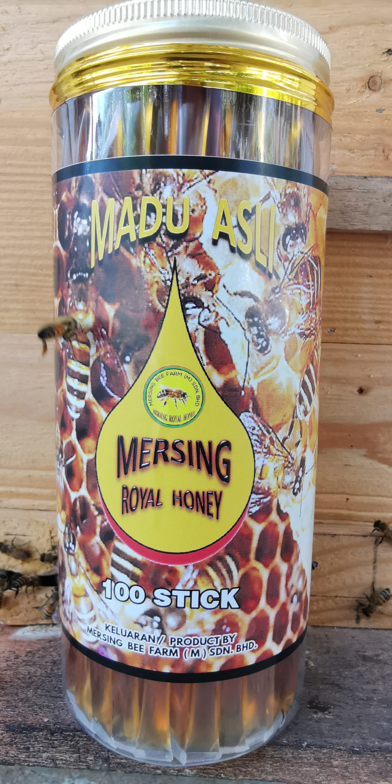 MADU ASLI MERSING ROYAL HONEY 100 STICKS RM 106