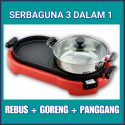ELECTRIC BBQ PAN GRILL + STEAMNOAT